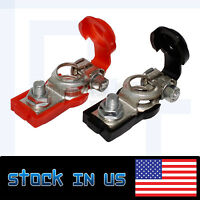 2pcs Truck Parts Durable Battery Terminals Clamp Positive & Negative Work Well