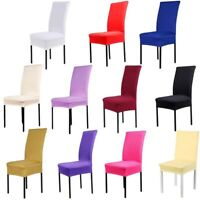 17 Colors Stretch Dining Room Wedding Chair Covers Party Decor Wedding Supplies