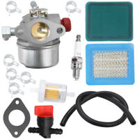 Carburetor Air Fuel Filter Kit For Tecumseh 640017B 640025 Lawn Mower Supplies