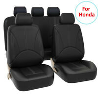 Universal Leather Car Seat Cover Accessories For Honda Accord Civic CRV Hyundai