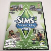 The Sims 3 Outdoor Living Stuff PC WIN MAC DVD-ROM - New Sealed!