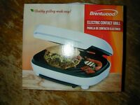 NEW Brentwood Electric Contact Grill NEW