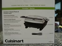 Cuisinart Griddler Panini Press and Contact Grill GR-1