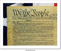 Constitution Of The United States Art/Canvas Print. Poster, Wall Art, Home Decor