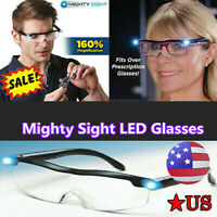 Mighty Sight - As Seen On TV LED Magnifying Eyewear Glasses 160% Magnification@