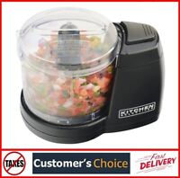 Compact Electric Mini Food Processor Kitchen Chopper Vegetable Safe Dishwashable