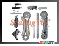 Fit 1997-11 Ford 4.0L 245ci SOHC V6 Engine Timing Chain Gear Kit set components