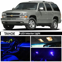 20x Blue LED Interior Map Dome Lights Bulb Package Kit for 2000-2006 Chevy Tahoe