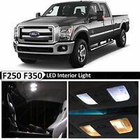 20x White Interior LED Lights Bulb Package Kit for 1999-2016 Ford F250 F350