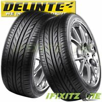 2 Delinte Thunder D7 225/40ZR18 92W Ultra High Performance Tires 225/40/18