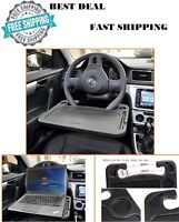 Laptop Steering Wheel Desk Auto Car Computer Mount Holder Eating Tray Stand Gift