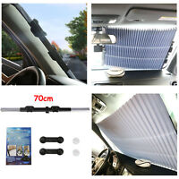 Car Retractable Front Window Sun Shade Visor Folding Auto Windshield Block Cover