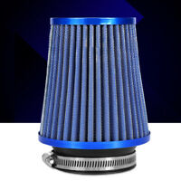 2 layers 76mm 3inch Car High Flow Cold Air Filter Intake Induction Kit Dry Cone