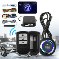 Car Alarm Start Security System Key Passive Keyless Entry Push Button Remote New