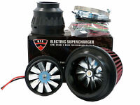 5PSI ELECTRIC SUPERCHARGER TURBO ADD HORSEPOWER + TORQUE INTAKE FOR GMC