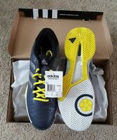 NWT Men's Adidas Gray/Yellow Tennis Shoes - Sz 10 1/2
