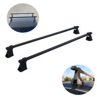 "Universal 48"" Roof Top Rack Carrier Luggage Cargo Cross Bars For SUV Truck Jeep"