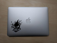 Cyber Punk 2077 video game xbox Vinyl Decal for Mac PC 3ds Nintendo car sticker
