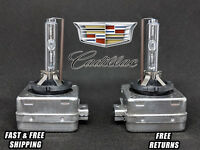 Front Stock HID Headlight Bulbs for Cadillac Escalade 2007-2014 High Low Beam x2