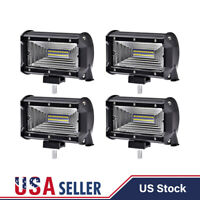 4X 5 INCH 288W Cree LED Work Light Bar Flood Combo Fog Driving OffRoad Car Truck
