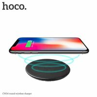 HOCO CW14 5V 2A Round Wireless Phone Charger Desktop Mobile Phone Charger KG