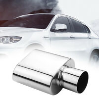 Car Truck Stainless Steel Square Exhaust Tip 2.5