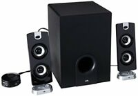 Cyber Acoustics CA-3602a 62W Desktop Computer Speaker with Subwoofer - Perfect