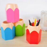 Home Organization Makeup Pencil Holder Desktop Storage Brush Container Pen Vase