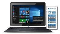 ✔ODYS PRIME WIN 10 2in1 Tablet PC und Notebook Laptop 10,1