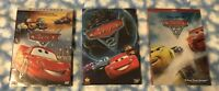 Cars Trilogy (1, 2, & 3)  3-DVD Set - Free FIRST CLASS USPS Shipping