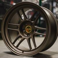 ESR SR11 18x9.5 5x114.3 ET35 Matte Bronze Wheels (Set of 4)