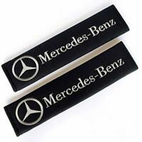 Seat Belt Shoulder Pads Strap Covers Cushion 1 pair For Mercedes Benz Cars New
