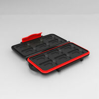 Hard Carrying Case Memory Card Storage CF SD SDHC MS DS 24pcs Card capacity Bag