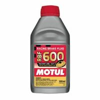Motul 1/2L Brake Fluid RBF 600 - Racing DOT 4 1/2L Bottle (16.9 fl.oz.)