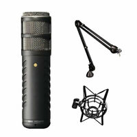 Rode Procaster Broadcast Dynamic Microphone w/ PSA1 Boom Arm & PSM1 Shockmount
