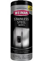 WEIMAN Stainless Steel Cleaner Wipes New 30 ct Clean & Polish Household Supplies