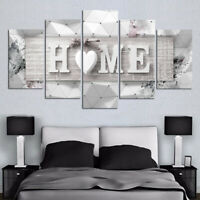 5pcs Modern HOME Canvas Oil Painting Wall Art Home Decor Picture Print Decor