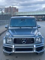 2020 Mercedes-Benz G-Class G63 AMG MERCEDES-BENZ G63 AMG MATTE GREY DESIGNO PLATINUM MANGO DESIGNO LEATHER EXCLUSIV