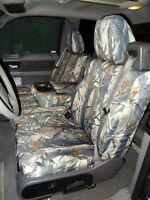 2004-2008 Ford Truck F150 XLT Super Cab, Front Exact Seat Covers, in Camo Endura