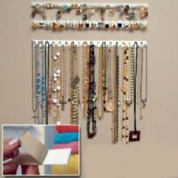Jewelry Display Rack Hanger Organizer Wall Hook Earring Necklace Holder Bracelet