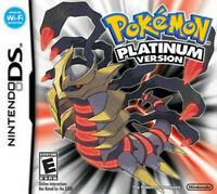 Nintendo Pokemon: Platinum Version GAME ONLY TEST GOOD WORKING US seller