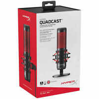 Brand NEW HyperX QuadCast USB Condenser Gaming Microphone SHIPS FAST!