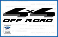 1997 - 2008 Ford 4x4 Off Road Decals Stickers - FBLK - truck side offroad black
