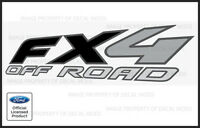 2008 Ford F250 FX4 OffRoad Decals Stickers - FB Truck Super Duty Off Road Bed