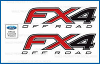 set of 2: 2014 Ford F150 FX4 Off Road Decals F offroad Stickers Truck bed Side