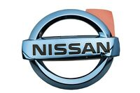 2011-2015 Nissan Leaf Ice Blue Front Grille Emblem Logo Nameplate Badge OEM NEW
