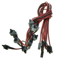 10pcs Power supply cable with ON OFF button switch replace Desktop reset switch
