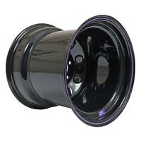 Bart Wheels Super Trucker Black Steel Wheels 15