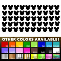 50 Mickey Mouse stickers Nursery Decal for DIY kids play room wall decor bedroom