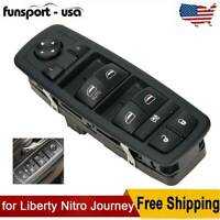 Fit For 2011-2016 Dodge Journey Left Side Power Window Lifter Master Switch